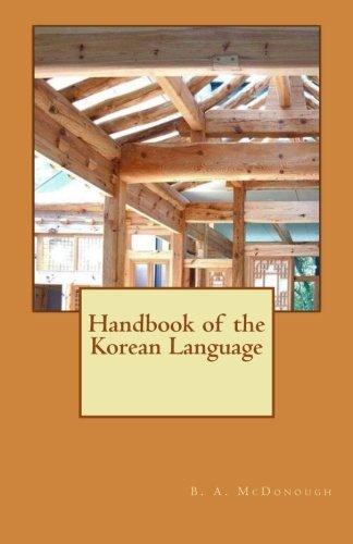 Handbook of the Korean Language