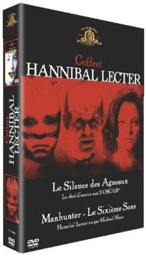 Le silence des agneaux + Le 6 ème sens Coffret Hannibal Lecter 2 DVD