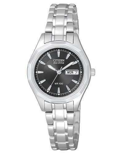 Citizen-Damen-Armbanduhr-Analog-Quarz-Edelstahl-EW3140-51EE