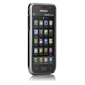 Case-Mate SAMSUNG Galaxy S / GT-I9000 Barely There Case with Screen Protector, Gloss Metalic Silver ベアリー・ゼア ケース (液晶保護シート つき) ,グロス・メタリック・シルバー CM011926