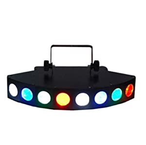 Eyourlife SWEEPER LED 12 Channel DMX512 DJ Disco Stage Party Effect Lighting