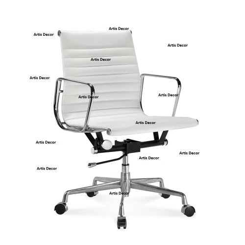 Super Artis Ribbed Low Or Mid Back Office Chair Genuine Leather Ncnpc Chair Design For Home Ncnpcorg