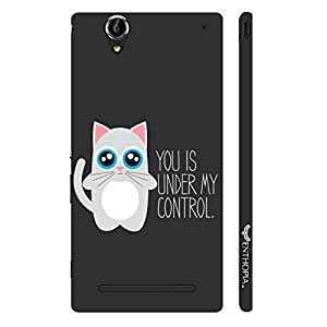 Sony Xperia T3 Under My Control designer mobile hard shell case by Enthopia