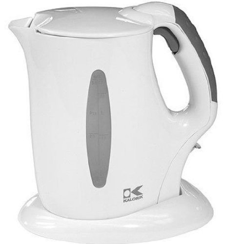 Kalorik Cordless Jug Kettle, White, 57-Oz., Garden, Lawn, Maintenance