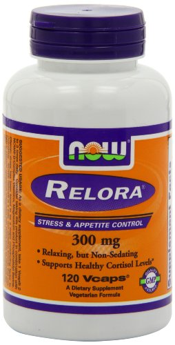 Now Foods Relora 300 mg, Veg-capsules, 120-Count