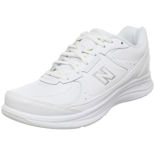 New Balance Women's WW577 Walking Shoe,White,9.5 D US