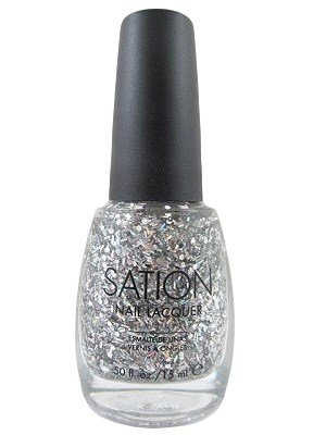 Sation Nail Lacquer -Two Faced Tint 9031 (Sation Glitter Nail Polish compare prices)