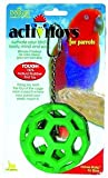 JW Pet Company Insight Hol-ee Roller Large Bird Toy Assorted Colors