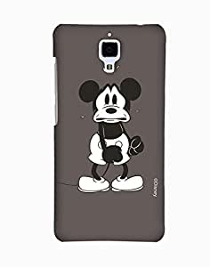 Pick Pattern with Exclusive DISNEY Characters Back Cover for Xiaomi Mi 4