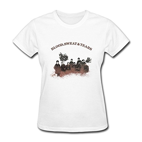 Donna's Blood, Sweat & Tears T-Shirt- bianca