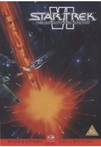 Star Trek VI: The Undiscovered Country [Reino Unido] [DVD]