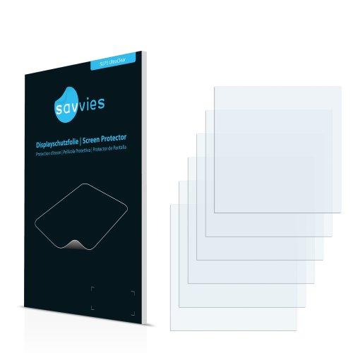 6x Displayschutzfolie für Lowrance HDS-5 Gen2 Folie Schutzfolie Displayfolie - Klar