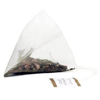 Guayusa and Chocolate Pyramid Tea Bag