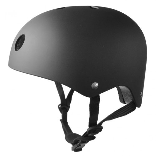 Feral Kids BMX Bike/Skate Helmet - Matt Black, Medium