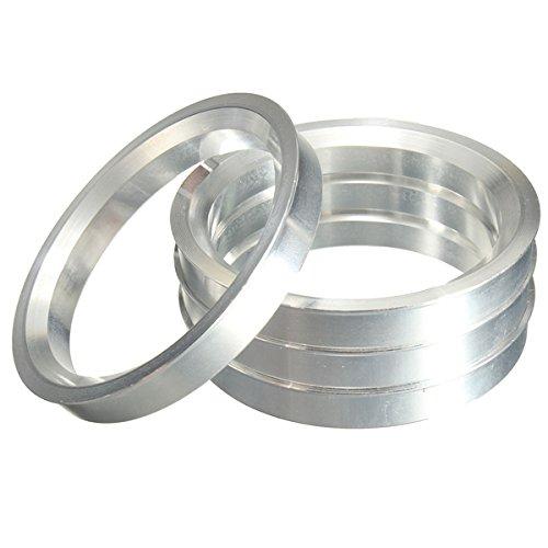 [해외]4 개 - Hubcentric Rings 알루미늄 허브 Centric Rings 72.56x74.1mm/4 pieces - Hubcentric Rings Aluminium Hub Centric Rings 72.56x7