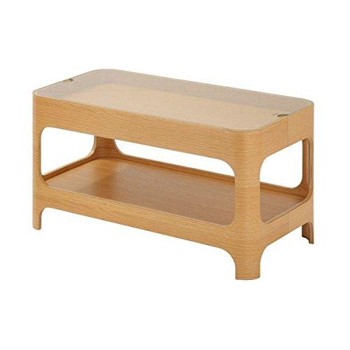 あずま工芸 テーブル 机 センターテーブル リビング 強化ガラス LOL-265
