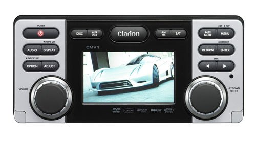 Clarion Cmv1 Dvd/Cd/Mp3/Wma Receiver With Usb Port
