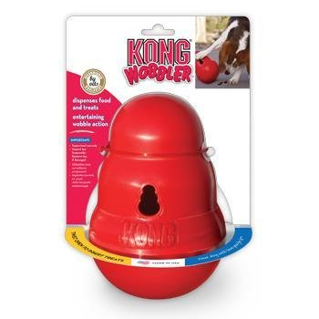 Kong Wobbler Dog Food And Treat Dispenser
