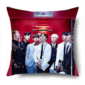 Trendsetter BTS Kpop in the mood for love Custom federa cuscino 18X 18(due lati)