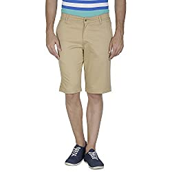 Inspire Khaki Cotton Shorts (26)