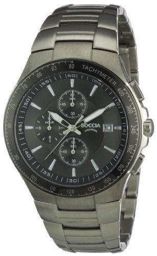 Boccia Men's Titanium Bracelet Watch B3773-01