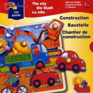 Picture of Fun Chelona Construction Link Knob Puzzle (B0018ZJNGI) (Pegged Puzzles)