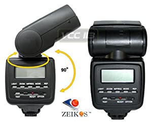 Zeikos ZE-680EX Electronic Flash for Canon Cameras