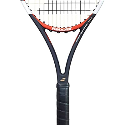 Babolat Pure Control Tour with Gt Un strung Racquet and Pro Xtreme X 200M String Combo Pack Grip: 4.375