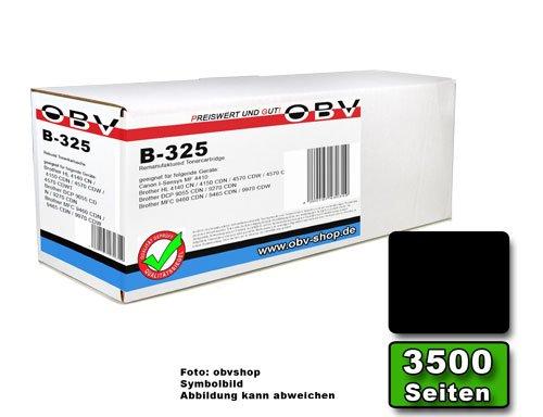 OBV kompatibler Toner schwarz ersetzt TN-325BK für Brother HL 4140CN 4150CDN 4570CDW 4570CDWT DCP 9055CDN 9270CDN MFC 9460CDN 9465CDN 9970CDW / Kapazität 4000 Seiten