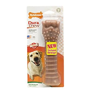 Nylabone Dura Chew Bone, Bacon Flavor, Souper