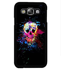 Crazymonk Premium Digital Printed Back Cover For Samsung Galaxy A7