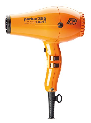 Parlux 385 Powerlight Professional Ionic and Ceramic Hair Dryer, 2150 Watts (ORANGE) (Hair Dryer Parlux 385 compare prices)