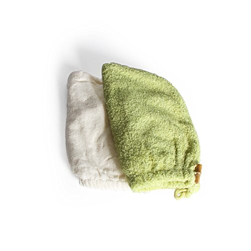 Bamboo Sauna Towels: Fashion Super Absorbent Bamboo Fiber Hair Dry Towel Dry