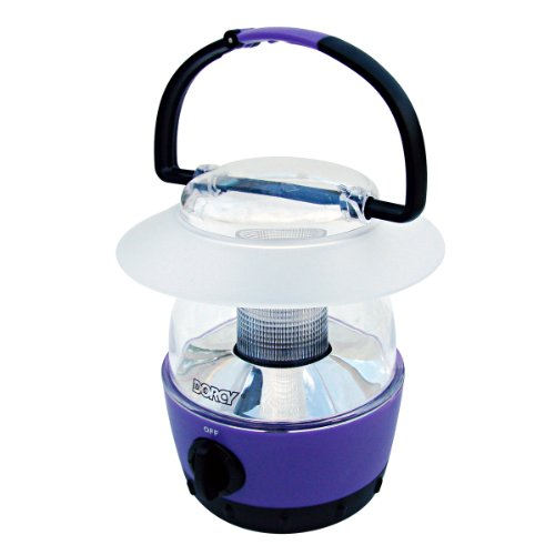 Dorcy 41-1017 Mini LED Flashlight Lantern with Built-In Hanging Hook, 40-Lumens, Assorted Colors
