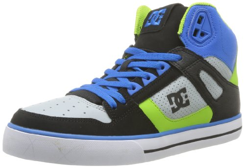 DC Mens SPARTAN HI WC SHOE Skateboard Shoes Blue Blau (ROY/B/WHT) Size: 10 (44 EU)