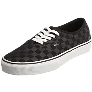 Vans Authentic Original Sneakers - black checker, men's 7.5, women's 9