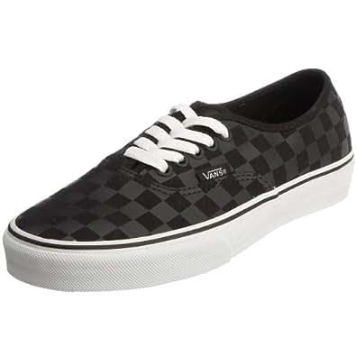 Vans Unisex Authentic Trainer (Checkerboard) black/black VEE3276 5.5 UK