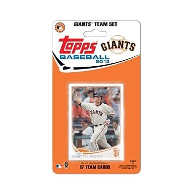 MLB San Francisco Giants Team Trading Card Set