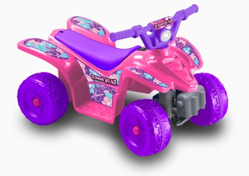 Kid Motorz 6V Quad Cruiser Ride On, Pink