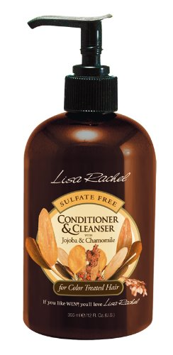 Lisa Rachel Sulfate Free Conditioner & Cleanser with Jojoba & Chamomile Hair Conditioners And Treatments