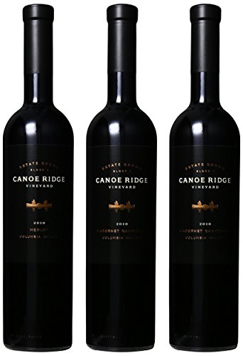 Canoe Ridge Estates Wood Gift Box Mixed Pack, 3 X 750Ml