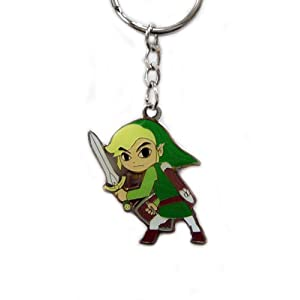 Legend of Zelda: Four Swords Link Keychain - Green