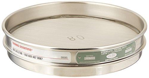 advantech-80ss8h-stainless-steel-half-sieve-8-diameter-80-mesh-size