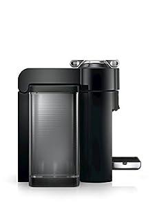 Nespresso GCC1-US-BK-NE VertuoLine Evoluo Deluxe Coffee and Espresso Maker, Black