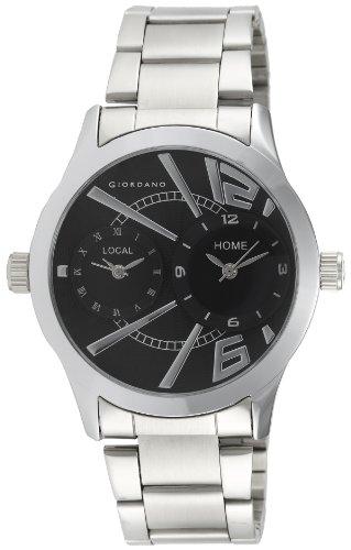 Giordano Analog Black Dial Men' s Watch - 60056 DTM (P6868)