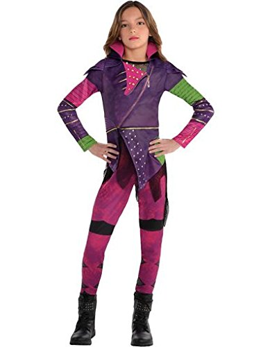 Disney descendants Mal costume size large all sizes real zipper