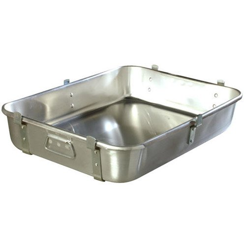 Carlisle 3003 Aluminum Commercial Weight Reinforced Roast Pan With Fab Lug, 24 X 18 X 4.5 Inch -- 1 Each.