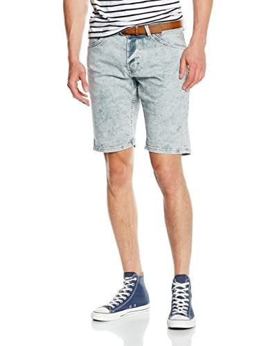 TOM TAILOR Denim Jeans ATWOOD regular denim bermuda weiß