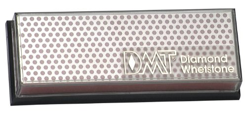 DMT W6FP 6-Inch Diamond Whetstone Sharpener - Fine With Plastic Box