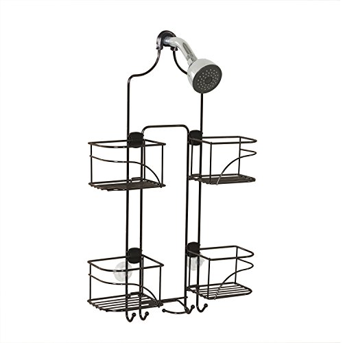 Expandable Shower Caddy For Hand Held Shower